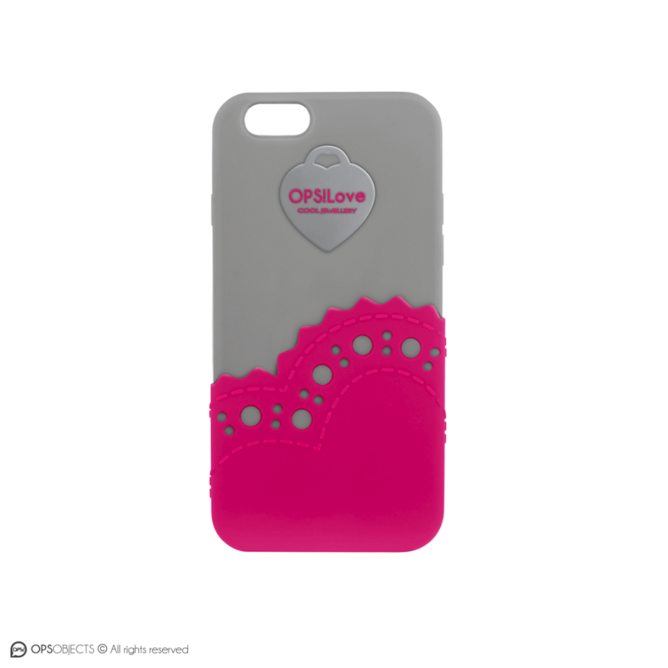 Cover-ops-derby-iphone5 5s-grigia-fucsia-Clessidra Jewels