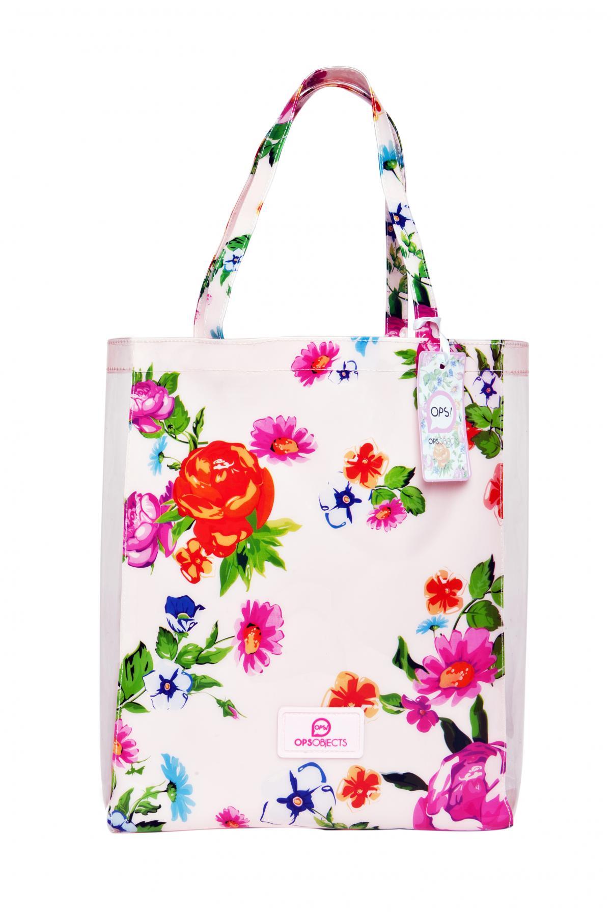 Borsa ops-flower-bianca-Clessidra Jewels