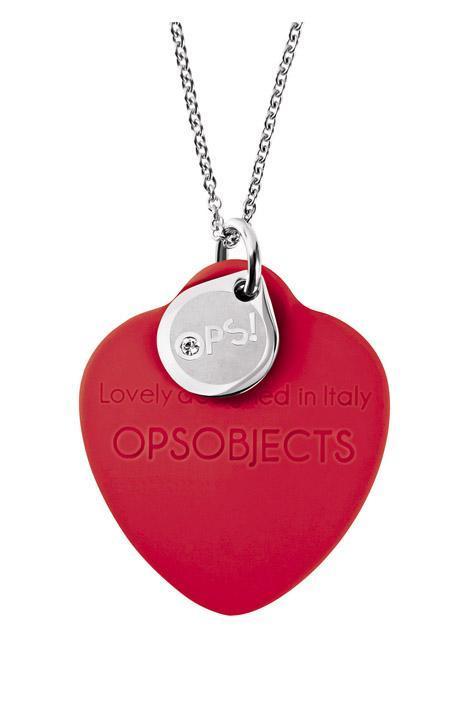 Collana ops beat-cuore-rosso-Clessidra Jewels
