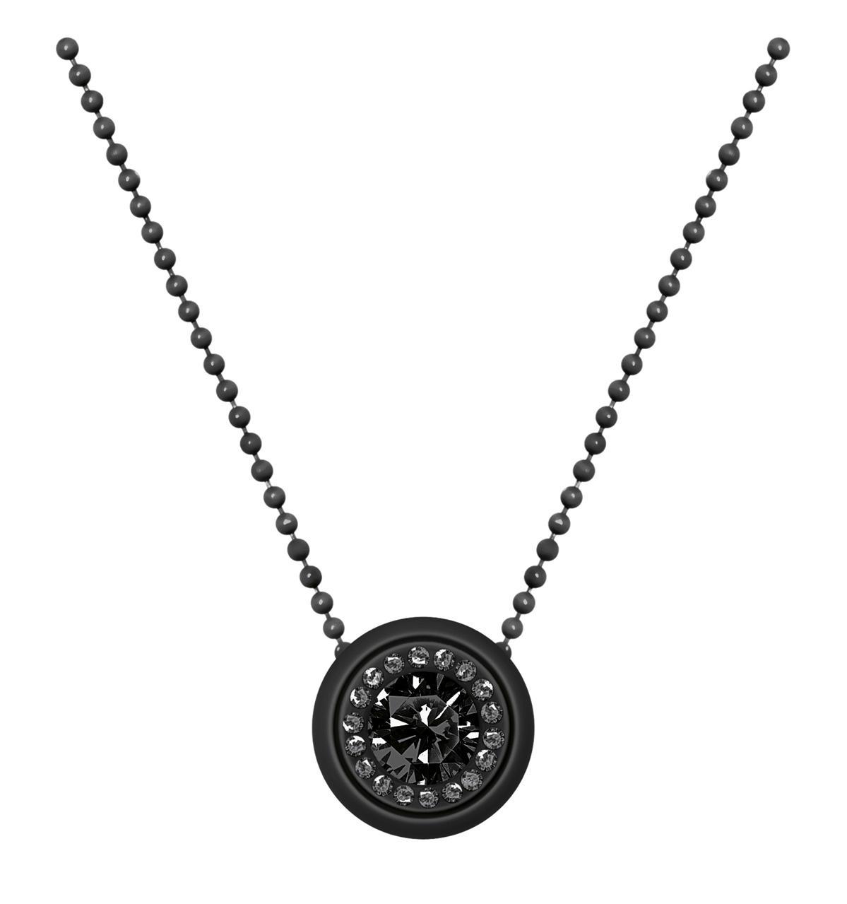 Collana ops objects-meg-nera-Clessidra Jewels