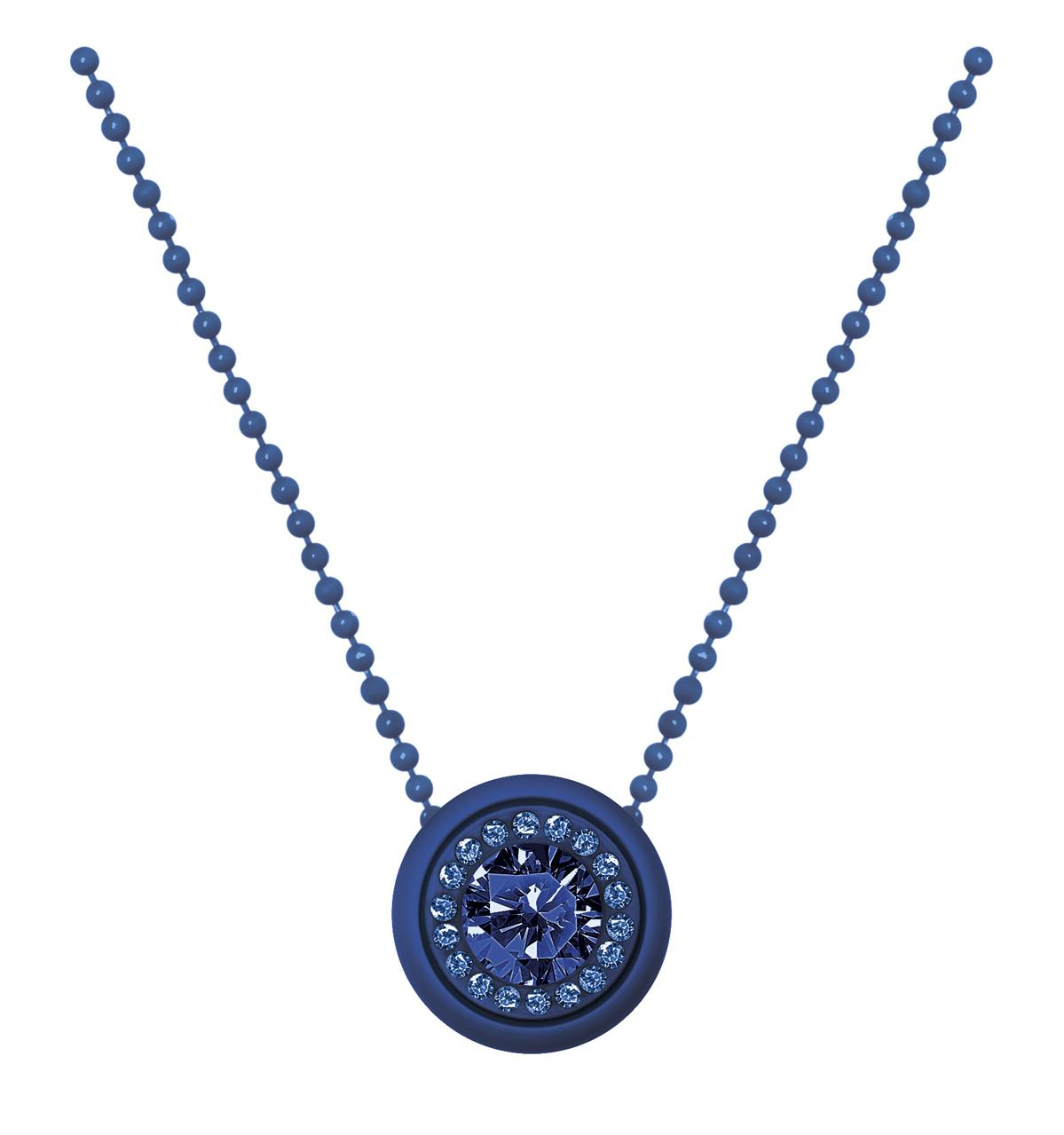Collana ops gem-blu-Clessidra Jewels