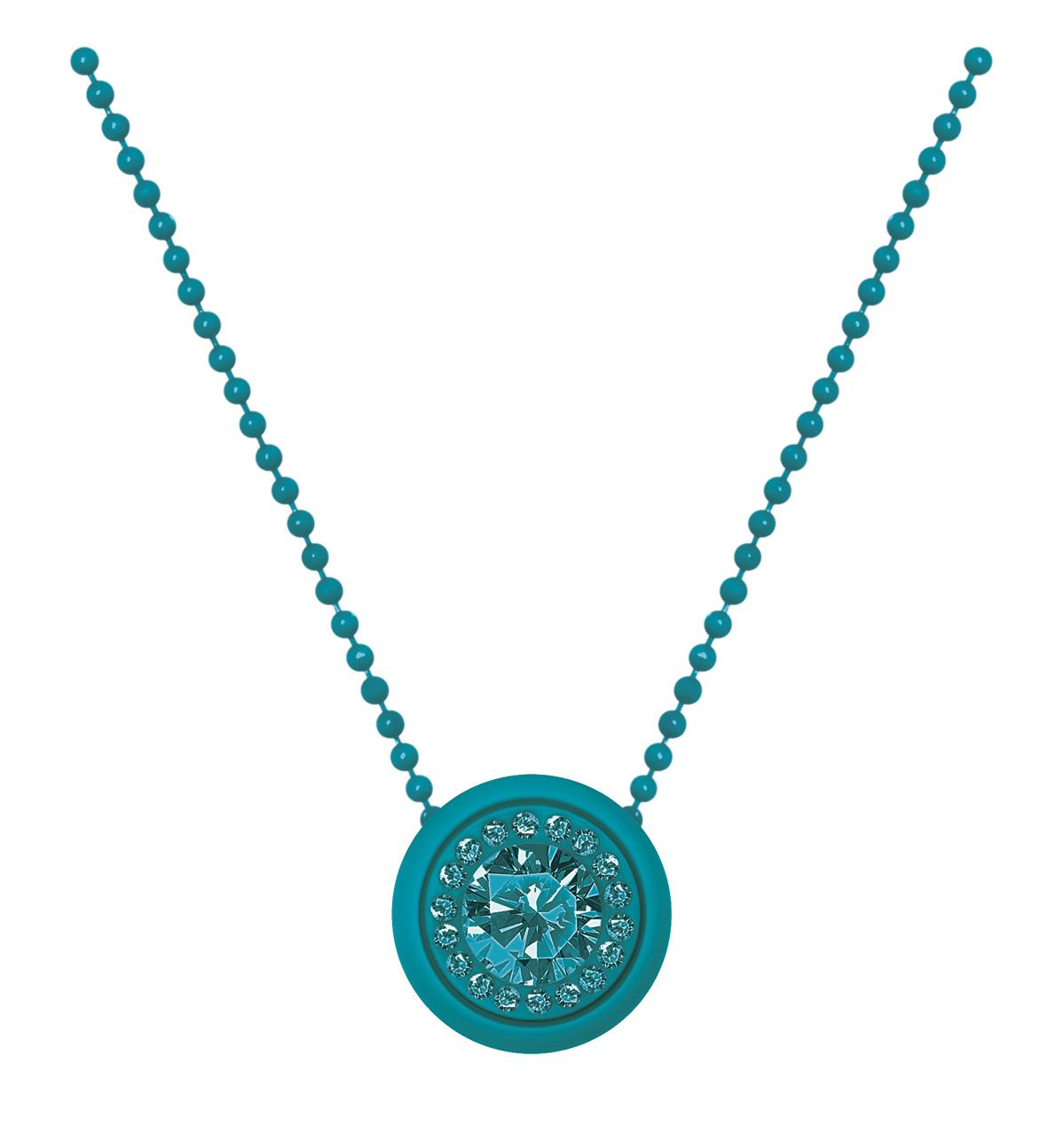 Collana ops gem-turchese-Clessidra Jewels