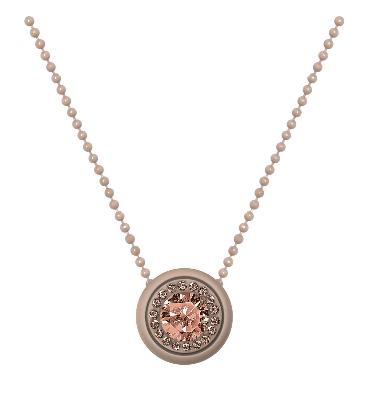 Collana ops gem-Beige-Clessidra Jewels