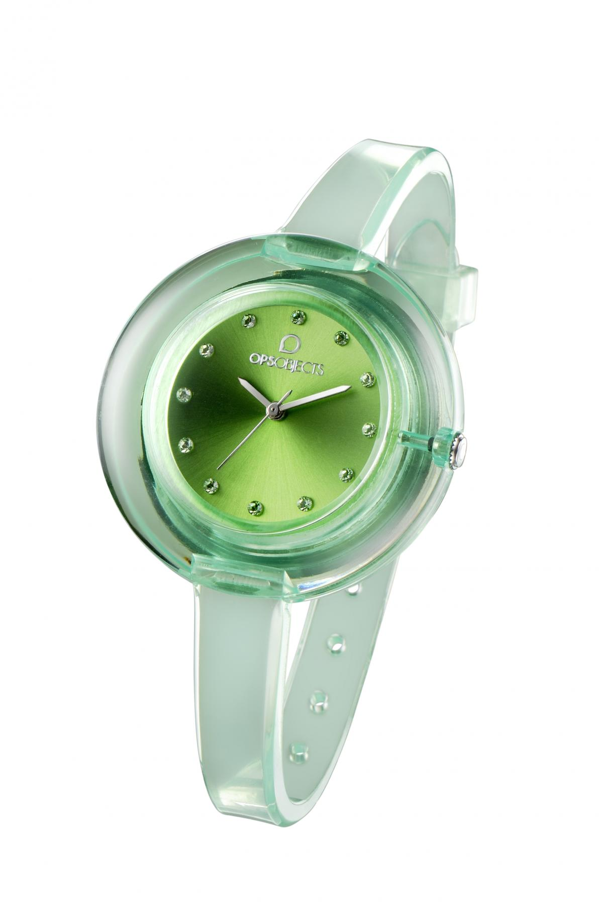 Orologio ops nude-verde-Clessidra Jewels